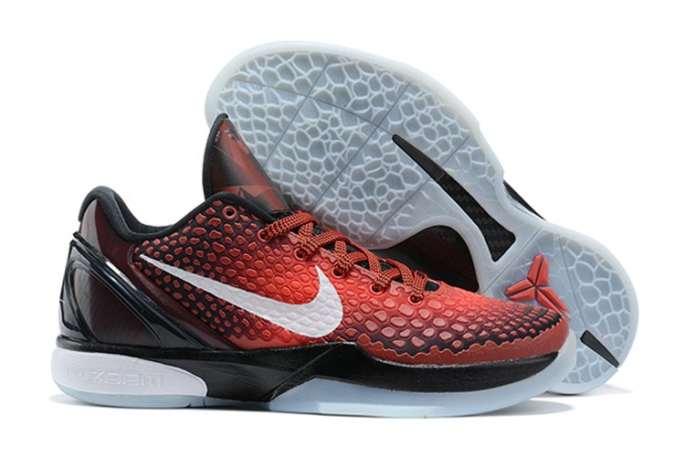 Nike Kobe 6 Protro All-Star Challenge Red Black-White On Sale