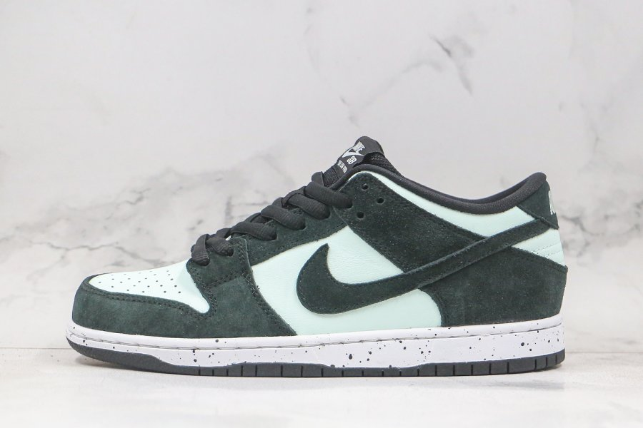 Nike SB Dunk Low Black Barely Green-White 854866-003 To Buy