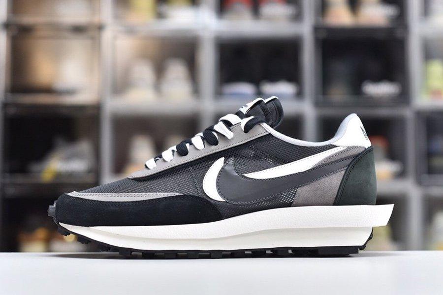 Sacai x Nike LDWaffle Black Anthracite-White-Gunsmoke For Sale