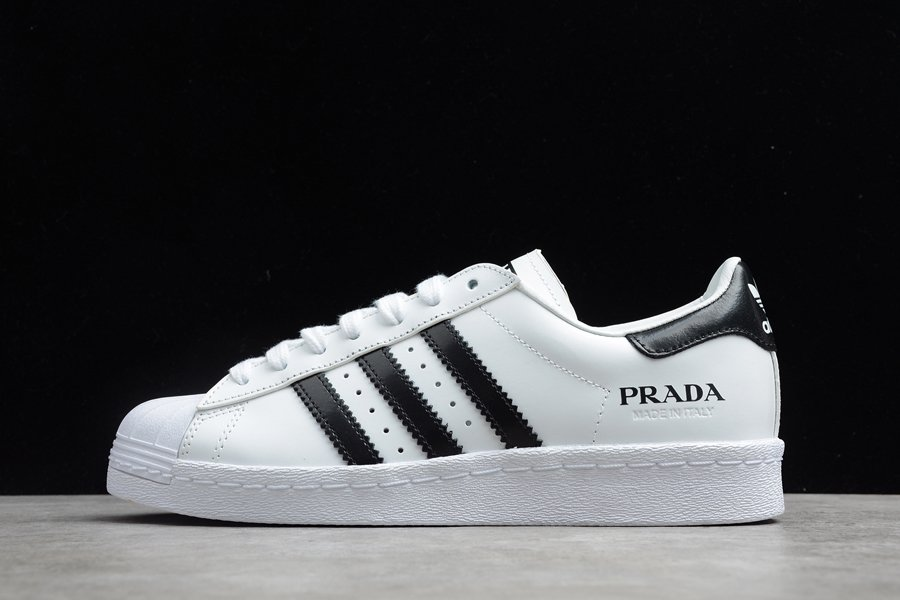 adidas Superstar Prada White Black FW6680 To Buy