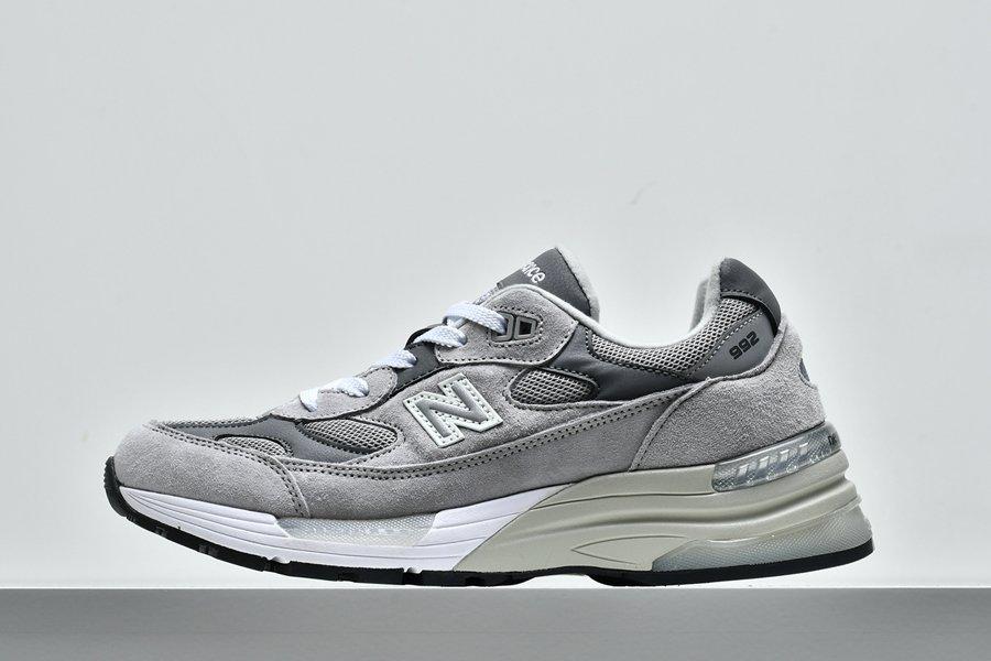 New Balance M992GR Grey Silver Made In USA