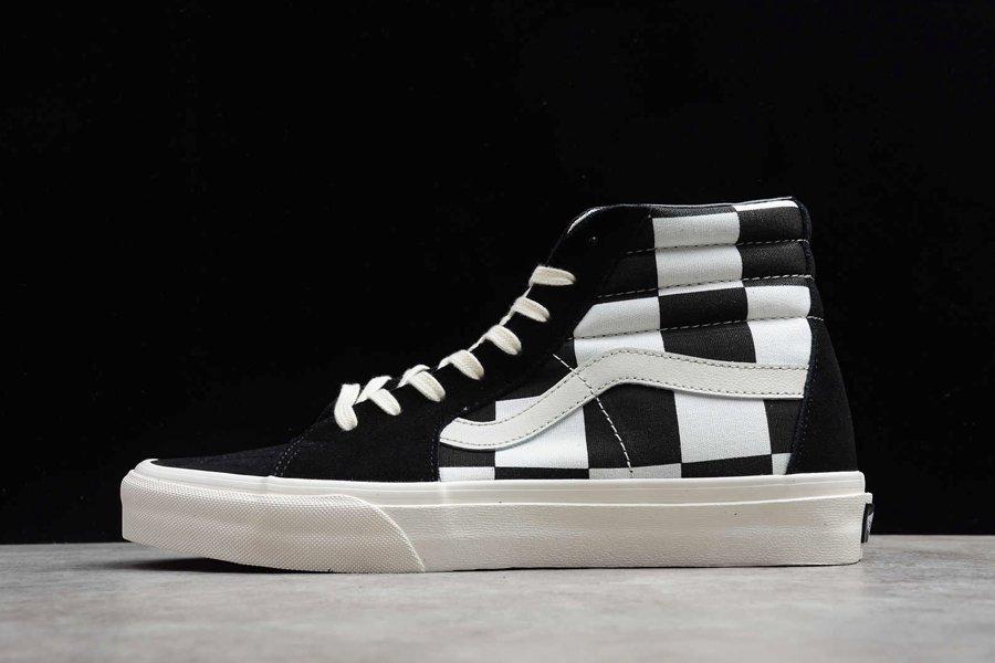 Vans Sk8-Hi Big Chessboard Black White For Sale