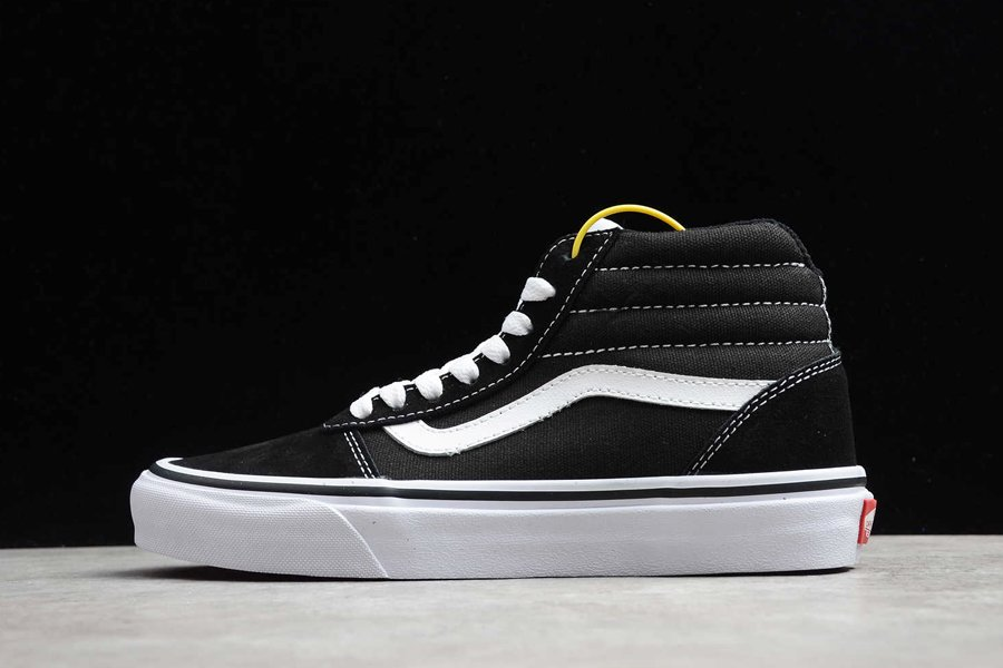 Vans Ward Hi Black White Sneakers Outlet