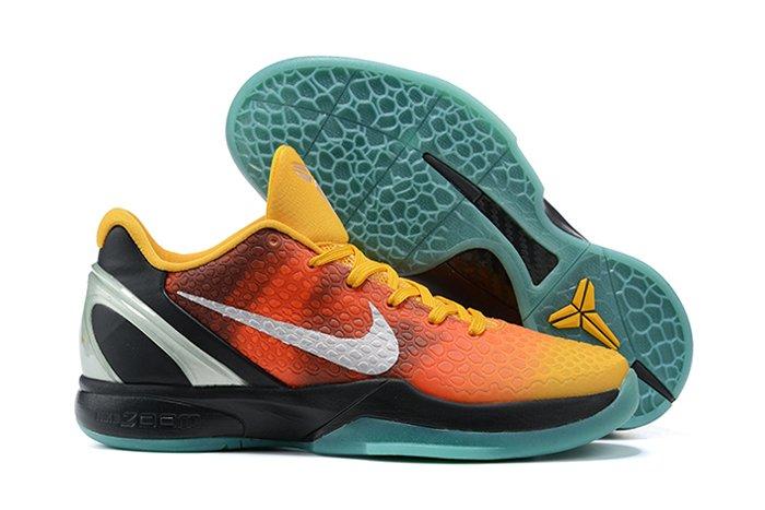 2021 Nike Kobe 6 Protro Orange County Orange Peel Black-Cannon