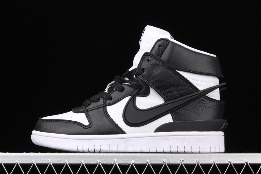 AMBUSH x Nike Dunk High Black White CU7544-001 To Buy