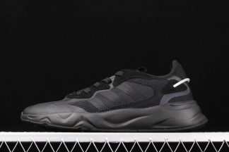 Adidas Future Flow All Black Running Shoes