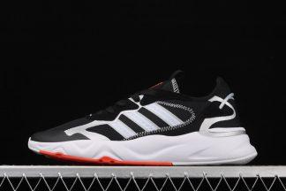 Adidas NEO Futureflow Marathon Black White Running Shoes