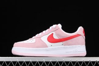 Air Force 1 Valentines Day Love Letter White Pink Foam University Red