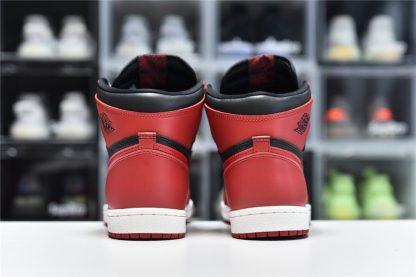 Air Jordan 1 Hi 85 Varsity Red BQ4422-600 Heel