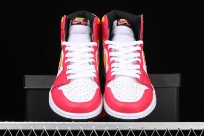 Air Jordan 1 High OG Light Fusion Red 555088-603 Front