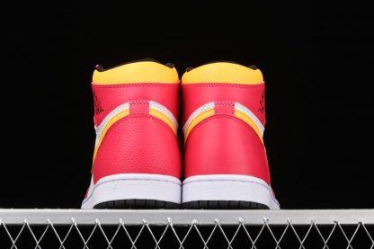 Air Jordan 1 High OG Light Fusion Red 555088-603 Heel