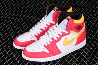 Air Jordan 1 High OG Light Fusion Red 555088-603 Top