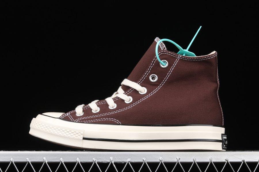 Buy Converse Chuck 70 High Dark Root In Brown