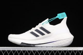 Buy adidas Ultraboost 21 White Dark Gray Running Shoes