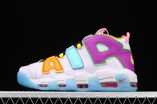 Colorful Nike Air More Uptempo Mix-n-Match DH0624-500 On Sale