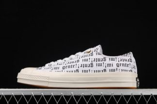 J Balvin Willy William x Converse Low 3D Print Black Letter White