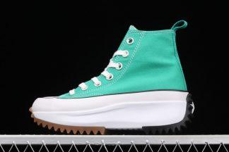 Ladies Converse Run Star Hike High Court Green Gum 170441C