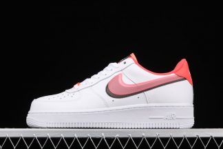 Nike Air Force 1 Low LV8 Double Swoosh White Bright Crimson