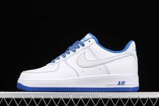 Nike Air Force 1 Low Releases With Reflective Swooshes White Blue