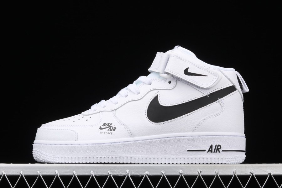 Nike Air Force 1 Mid Utility White Black To Buy