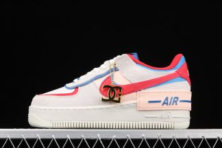 Nike Air Force 1 Shadow Sail Royal Red CU8591-100 For Womens