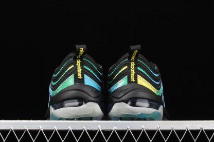 Nike Air Max 97 Golf Black Tie-Dye Multi-color CK1219-001 Heel