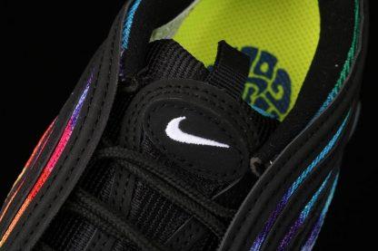 Nike Air Max 97 Golf Black Tie-Dye Multi-color CK1219-001 Tongue