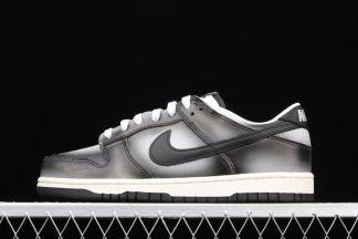 Nike Dunk Low Premium Haze White Black-Medium Grey