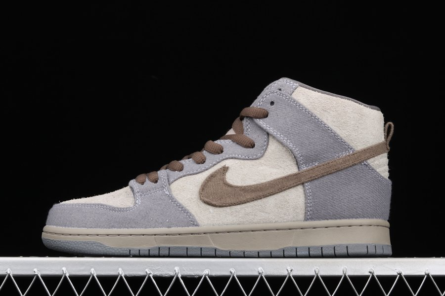 Nike Dunk SB High Tauntaun Medium Grey Smoke-Cool Grey