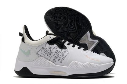 Nike PG 5 White Essential White Black CW3143-100 On Sale