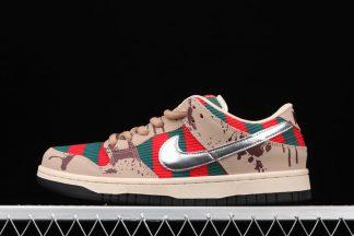 Nike SB Dunk Low Freddy Krueger Taupe Chrome 313170-202