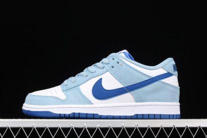 Nike SB Dunk Low Light Blue White-Dark Blue