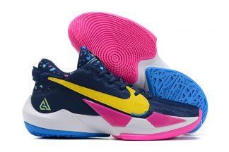 Nike Zoom Freak 2 Midnight Navy Poison Green-Fire Pink