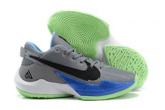Nike Zoom Freak 2 Particle Grey Black-Blue Beyond-Sail
