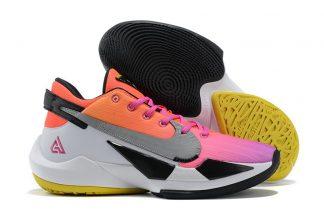 Nike Zoom Freak 2 Sunset Orange Pink White Black