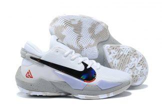 Nike Zoom Freak 2 White Cement Basketball Shoes