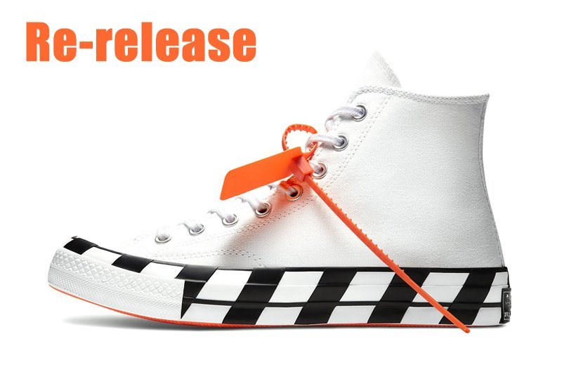 Off-White x Converse Chuck 70 To Re-release On March 30th