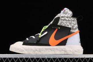 READYMADE x Nike Blazer Mid Black Orange