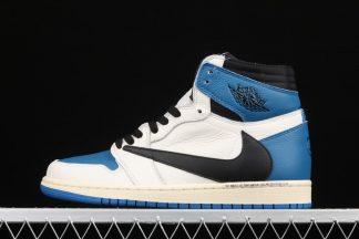Travis Scott x Fragment x Air Jordan 1 High OG Blue