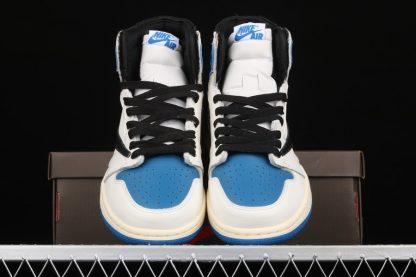 Travis Scott x Fragment x Air Jordan 1 High OG Blue Vamp