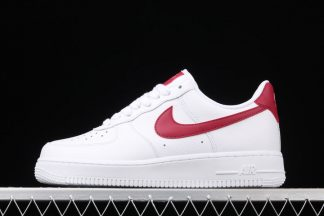 Unisex Nike Air Force 1 07 White Noble Red