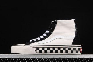Vans Sk8-Hi 138 Decon SF Check White Black