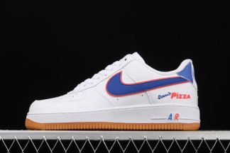 Air Force 1s Low Scarrs Pizza White Blue