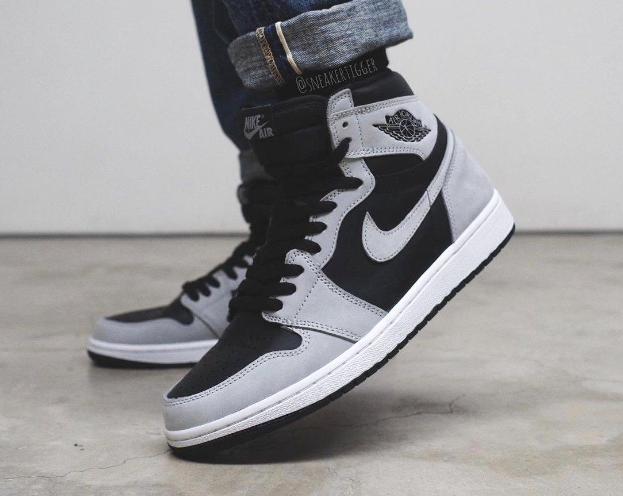Air Jordan 1 High OG Shadow 2.0 On Feet
