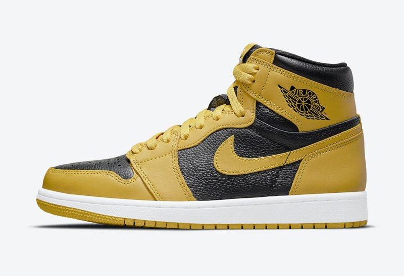 Jordan 1 High Pollen Yellow