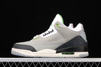 Air Jordan 3 Retro Chlorophyll Light Smoke Grey To Buy