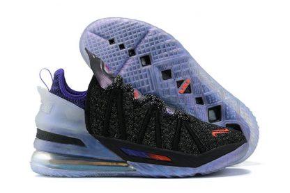 Kylian Mbappe x Nike LeBron 18 The Chosen 2 Black Purple