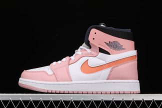 Ladies Jordan 1 High Zoom Air CMFT Pink Glaze CT0979-601 On Sale