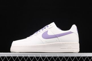 Ladies Nike Air Force 1 07 White Purple To Buy