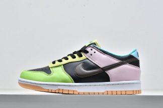 Nike Dunk Low FREE.99 Mismatched Color DH0952-001 Black